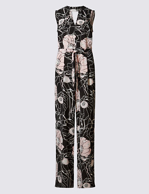 60% discount highly coveted range of factory authentic Floral Jumpsuit