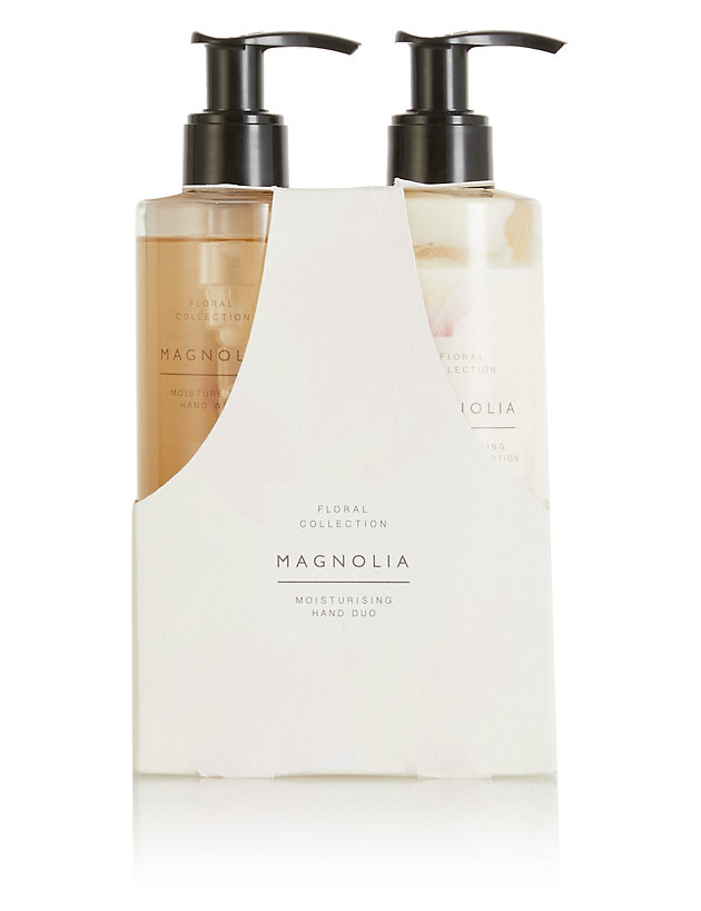 Floral Magnolia Hand Duo Gift Set
