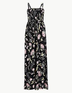 ce4dfa36d9bca Floral Print Beach Maxi Dress | M&S Collection | M&S