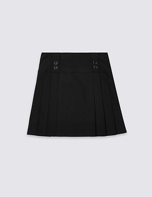 80fca52ab5 Girls' Permanent Pleats Skirt | M&S