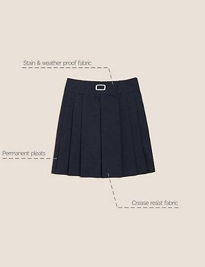 huge inventory sale retailer superior quality Girls' Permanent Pleats Skirt