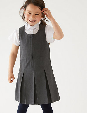 680146edef Girls  Plus Fit Pinafore
