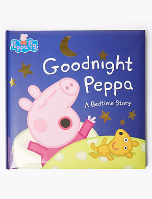 Goodnight Peppa Pig™ Bedtime Story Book | M&S