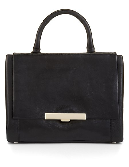 Leather Grab Bag