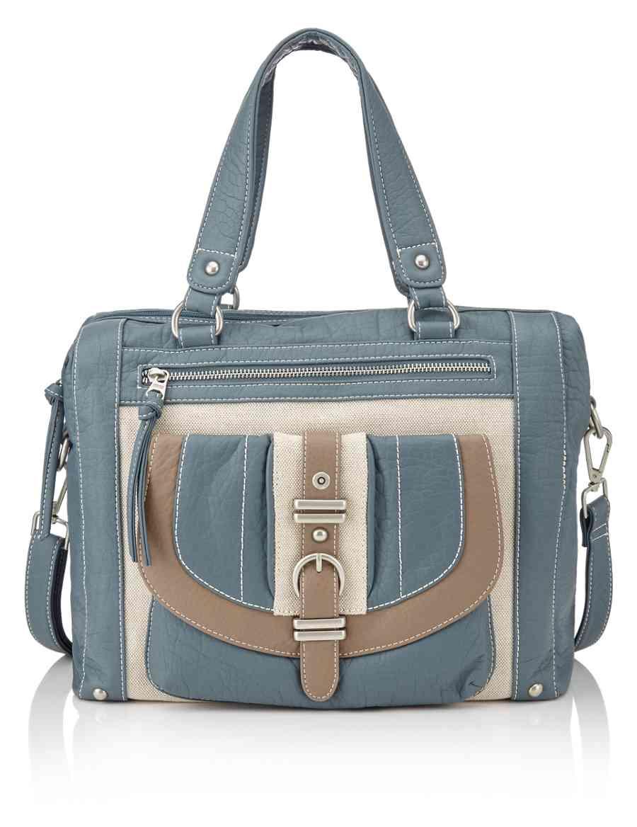 Faux Leather Bowler Bag  fbb3b252a6558