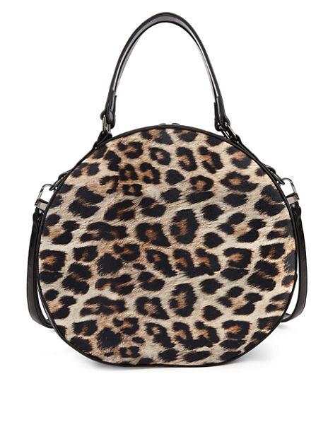 Leopard Print Vanity Tote Bag