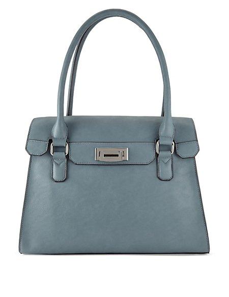 Drop Lock Tote Bag