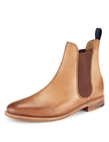 Best of British Leather Chelsea Ankle Boots