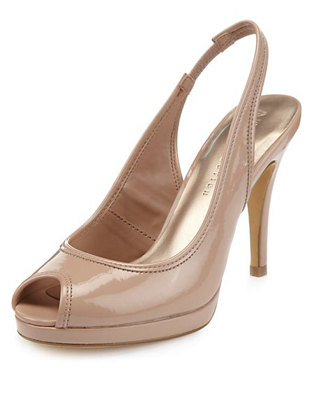 Platform Slingback Shoes with Insolia®