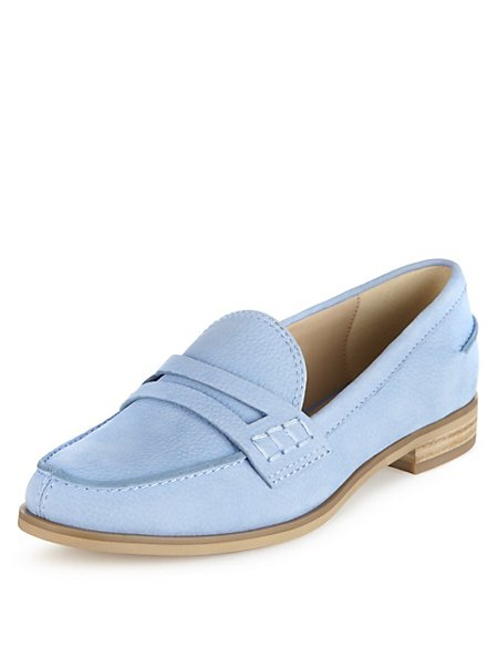 Leather Penny Loafers with Insolia Flex®