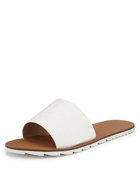 Sporty Slide Sandals