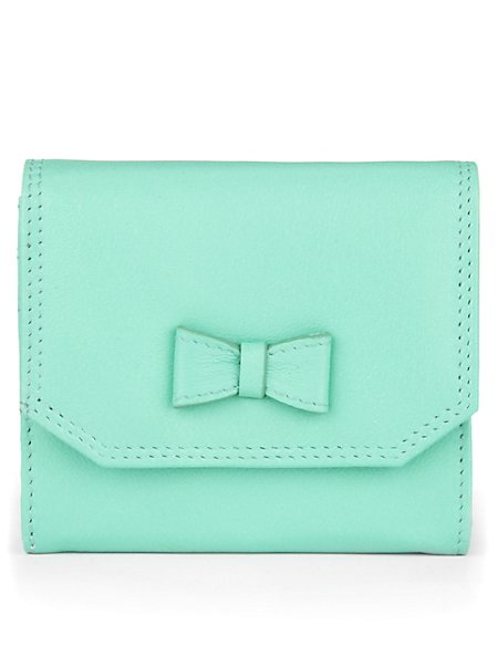 Textured Bow Purse