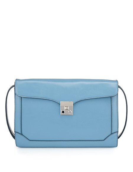 Panelled Shoulder Bag