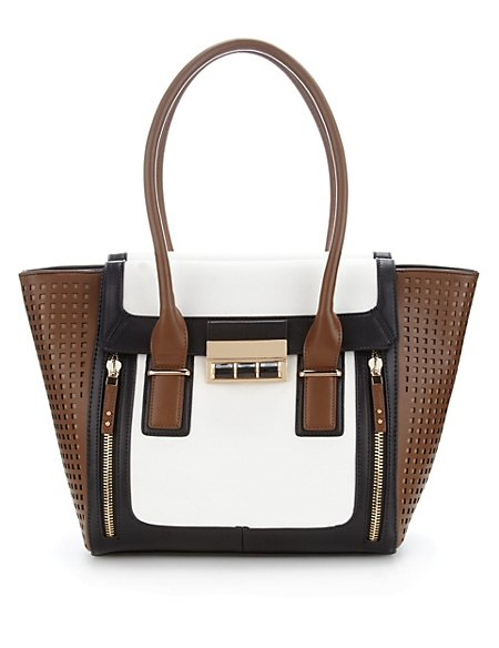 Cut-Out Tote Bag