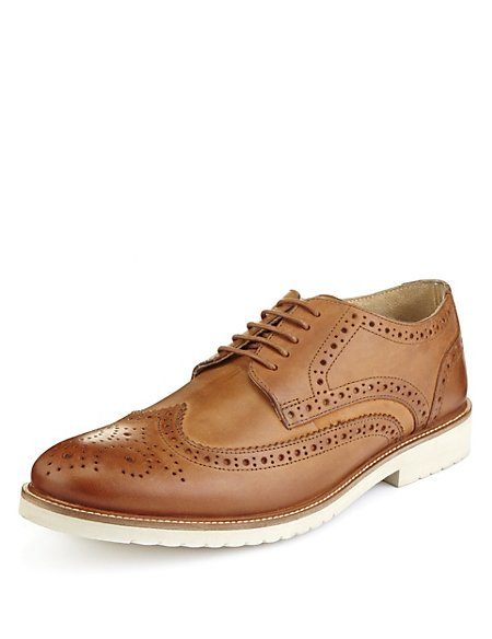 Leather Lace Up Brogues