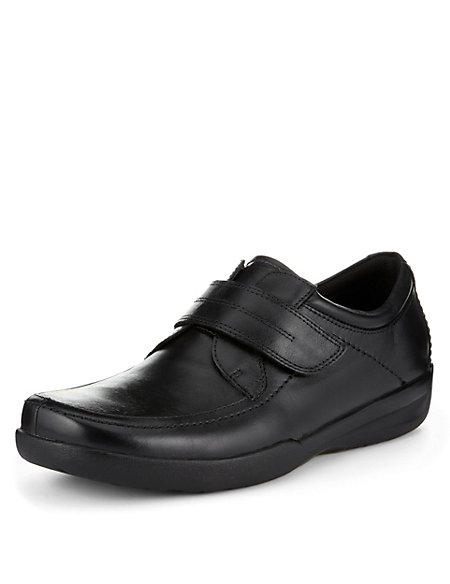 Airflex™ Leather Extra Wide Fit Riptape Shoes