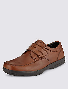 Extra Wide Fit Leather Shoes with Airflex™