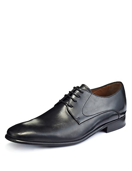 Leather Lace Up Gibson Shoes