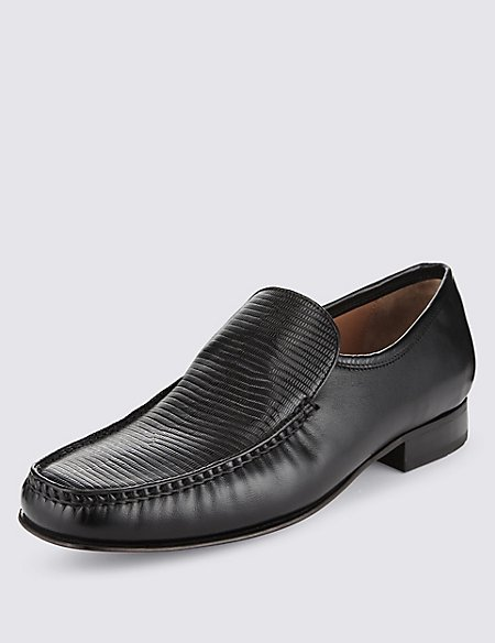 Vamp Slip-on Loafers