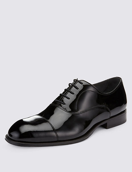 Leather Toe Cap Evening Shoes