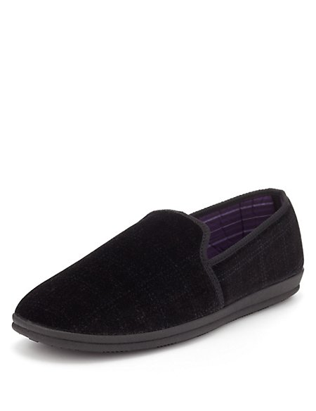 Freshfeet™ Slip-On Slippers with Silver Technology