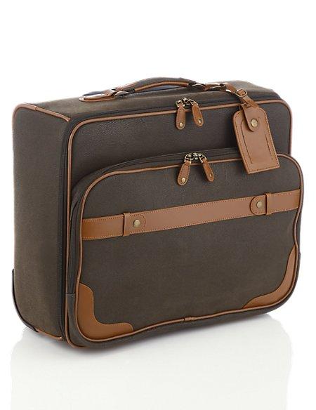 Flocked Mobile Office Bag