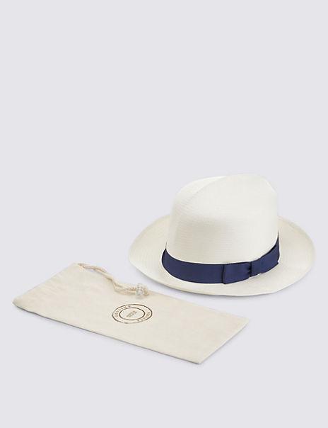 8c0fbeb1b Handwoven Foldable Panama Hat