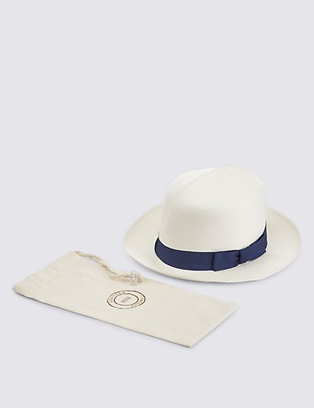 Handwoven Foldable Panama Hat