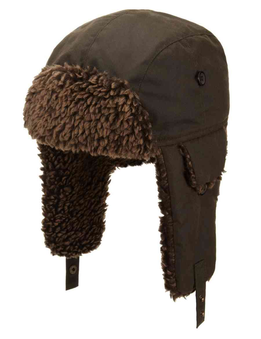 a03cceff7f7 Pure Cotton Waxed Thinsulate™ Trapper Hat with Stormwear™