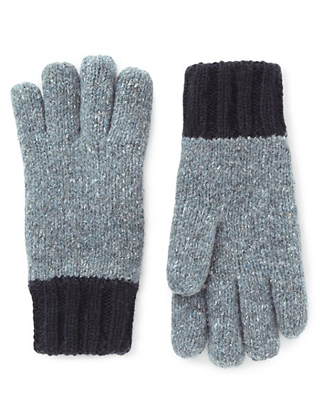 Two Tone Flecked Gloves with Thinsulate™