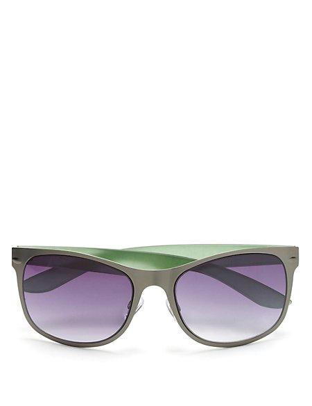 UV Protection Rectangular Frame Sunglasses