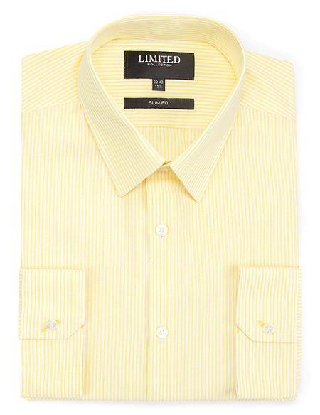 Slim Fit Bengal Striped Shirt