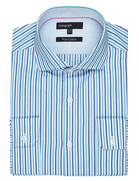 Supima® Pure Cotton Striped Shirt