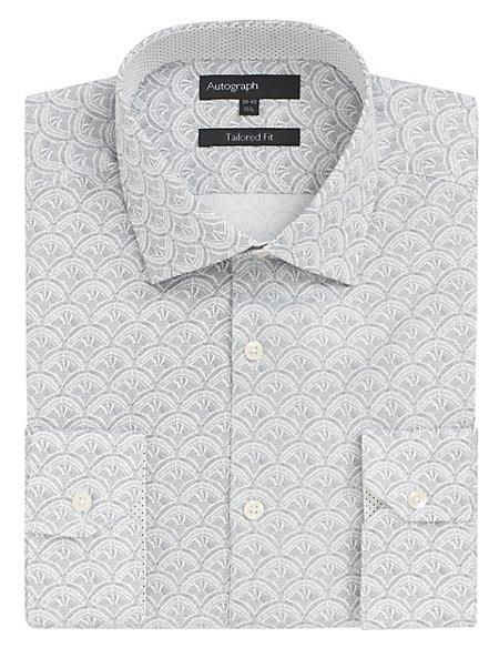 Supima® Cotton Shell Print Shirt