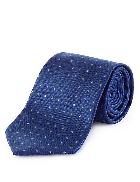 Textured Tiny Square Tie