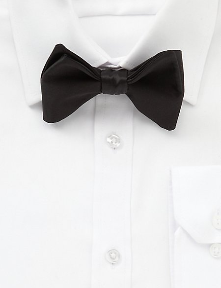 Pure Silk Self-Tie Bow Tie