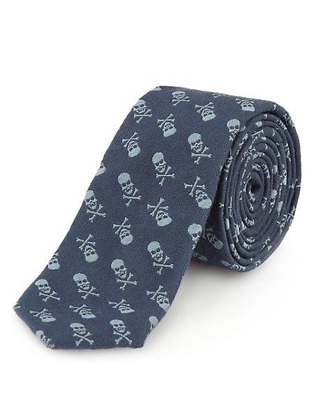 Skull Cross Tie