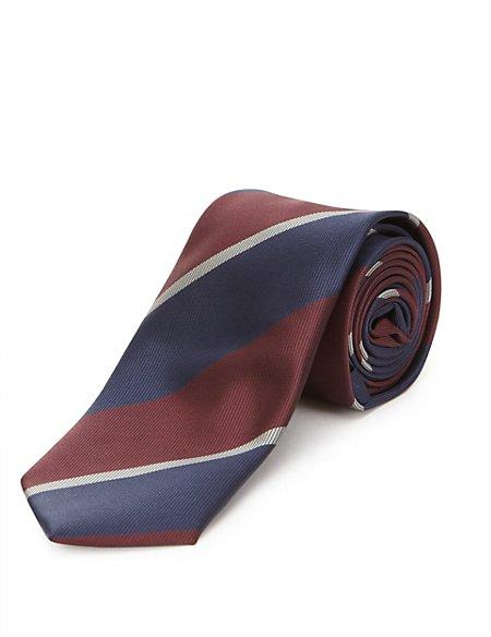 Skinny Fit Triple Striped Tie