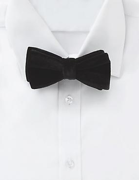 Pre Tied Velvet Bow Tie
