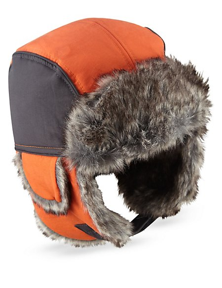 Product images. Skip Carousel. Faux Fur Thinsulate trade  Trapper Hat  (Older Boys) c53c470de77