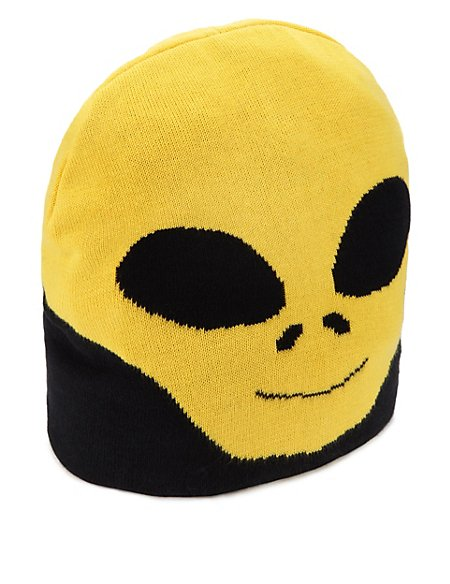fdee335f422 Product images. Skip Carousel. Pure Cotton Alien Beanie ...