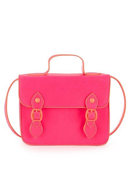 Neon Mini Satchel Bag (Older Girls)