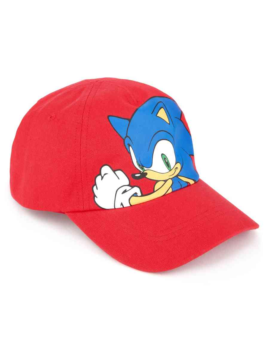 be0302ce83d9 Pure Cotton Sonic the Hedgehog Cap (Older Boys)
