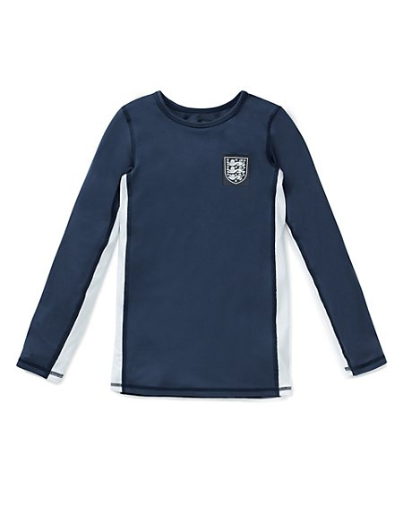 Body Sensor™ Official England FA 3 Lions Base Layer Vest Top (5-16 Years)
