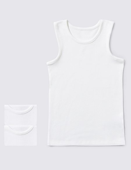 Sleeveless Thermal Vests (2-16 Years)