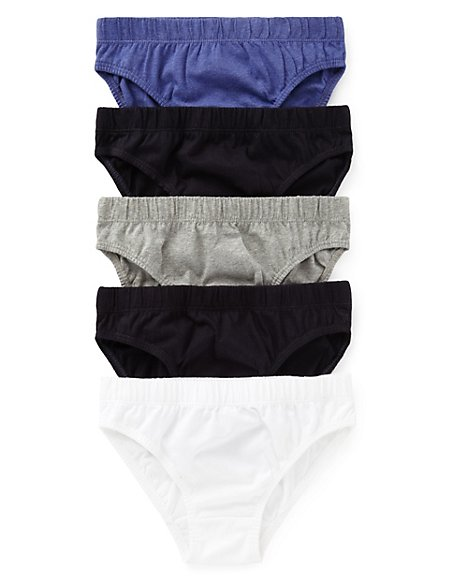 Pure Cotton Assorted Slips (1-16 Years)