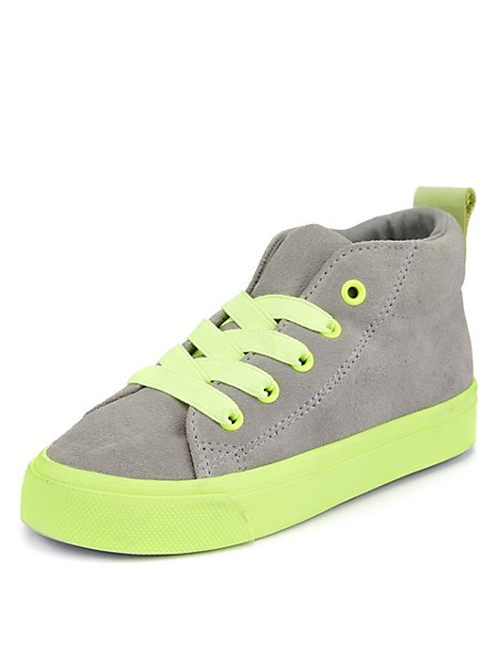 Suede Hightop Stain Defence™ Chukka Trainer (Younger Boys)
