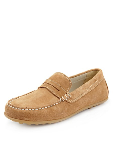 Suede Driving Shoes (Older Boys)