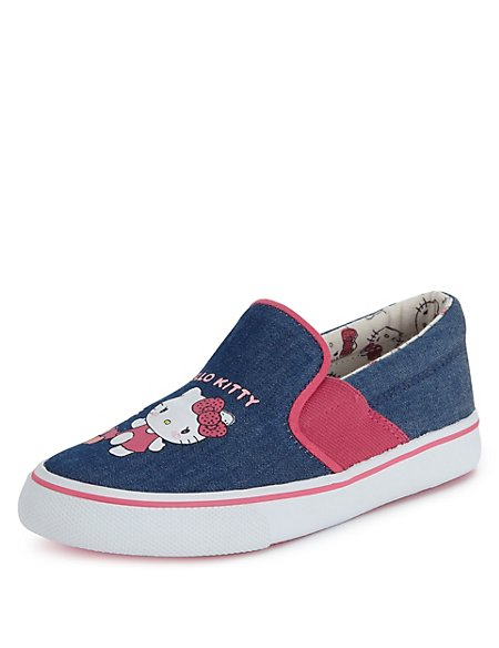 Kids' Hello Kitty Slip-On Casual Trainers