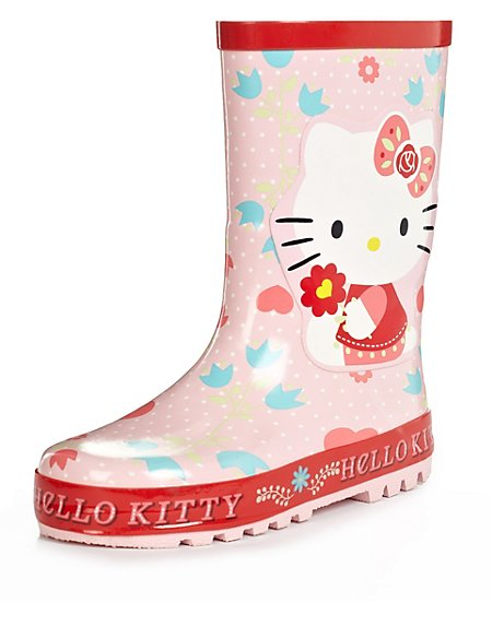 Hello Kitty Welly Boots (Younger Girls)